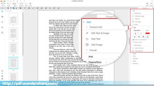 edit pdf in mac