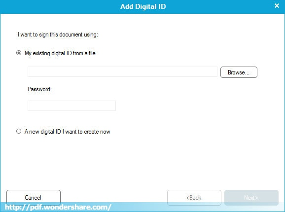 add a signature to a PDF