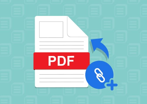 Add Link to PDF Files