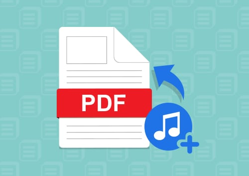 Add Music to PDF Files