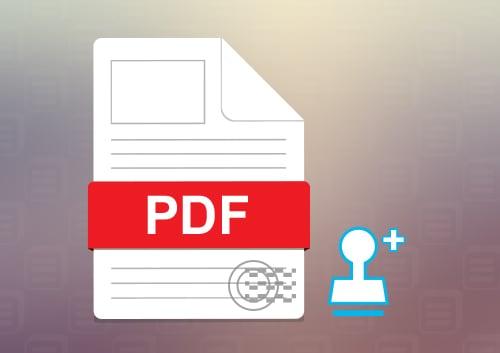 Add Stamp to PDF