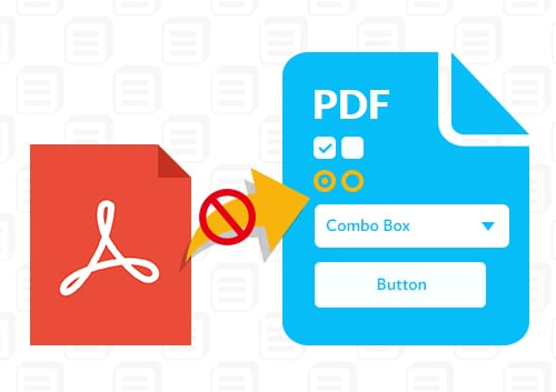Adobe Reader Cannot Save PDF form