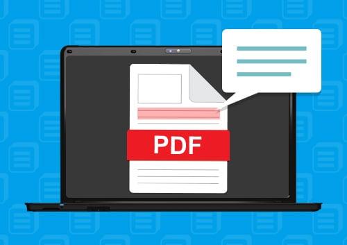 Annotate PDF Files in Adobe Acrobat