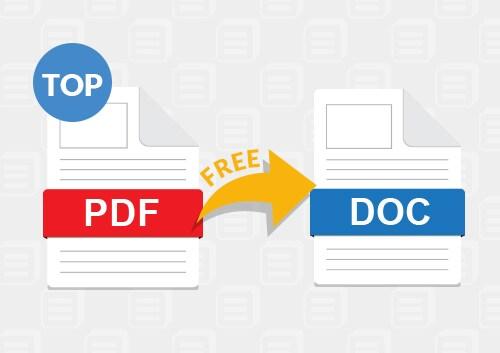 Best PDF to Doc Converters
