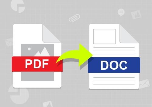 Convert PDF Image to Word