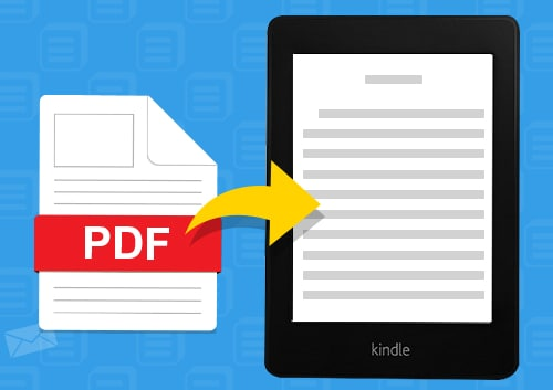 Convert PDF to Kindle Friendly format