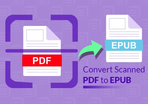 Convert Scanned PDF to Epub