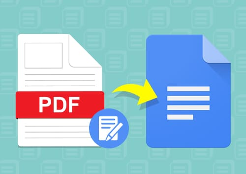 Edit PDF In Google Docs