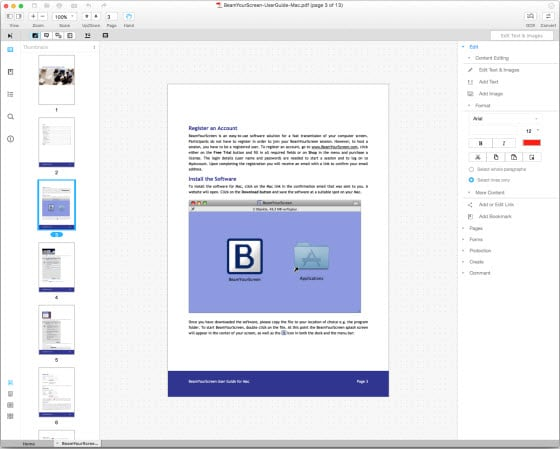 convert image pdf to text pdf