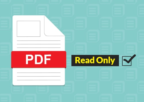 Make PDF Read only
