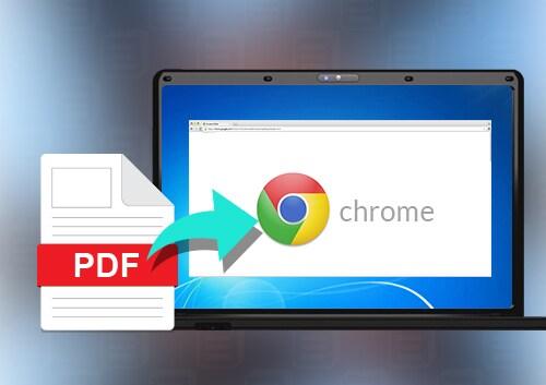 Open PDF in Web Browser