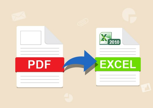 PDF to Excel 2007
