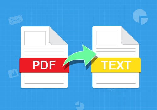Scanned PDF to Text