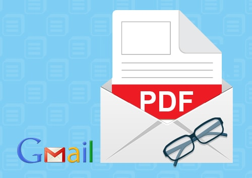 View And Manage PDF In Gmail