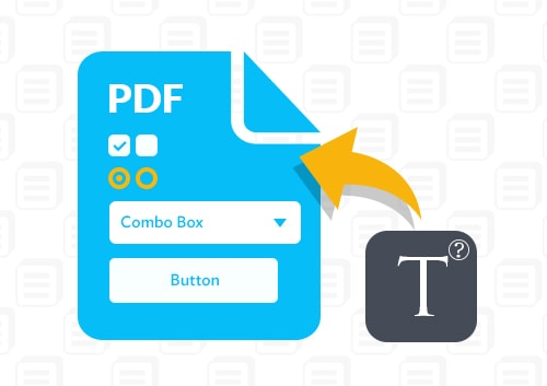 Write on A PDF form
