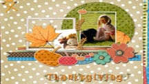 Fall and Thanksgiving Scrapbook