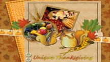 Thanksgiving Turkey Scrapbook