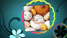 Thanksgiving Greeting Slideshow