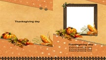 Thanksgiving Day Cards Template