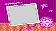 New Year Celebration Collage Template