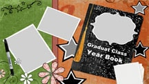 School Yearbook Collage Template