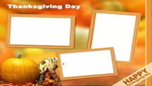 Happy Thanksgiving Collage Template