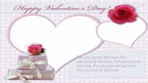 Happy Valentine's Day Collage Template