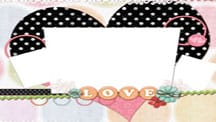 Always Love You Scrapbook Template 