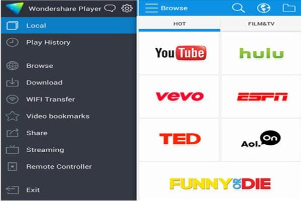 wondershare player download free movies online
