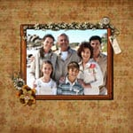 Family Scrapbook Templates
