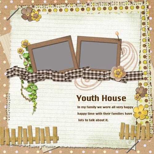 family scrapbook templates