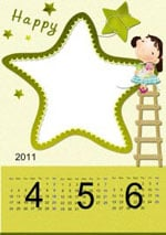 Photo Calendar Scrapbook Templates