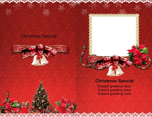 greeting card scrapbook templates