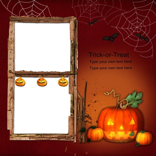 halloween scrapbook templates