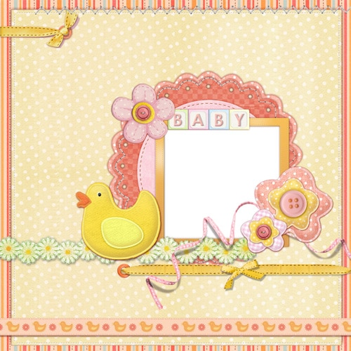 baby and kids scrapbook templates