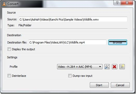 Make VLC Turn Into a Video Converter