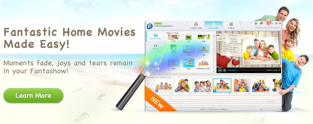 Create fantastic movie with Fantashow