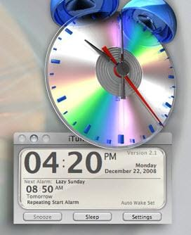 itunes alarm mac