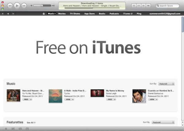 itunes freebies