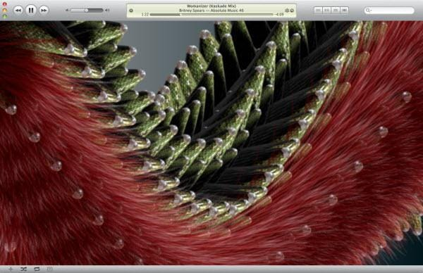 itunes visualizer dragon