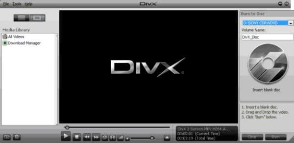 divx video player
