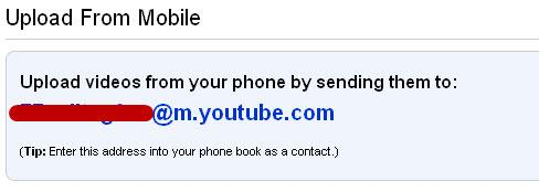 upload mobile video youtube