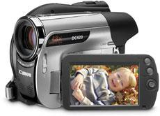 canon camcorder recovery