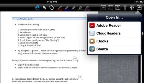 sync PDF to iBooks