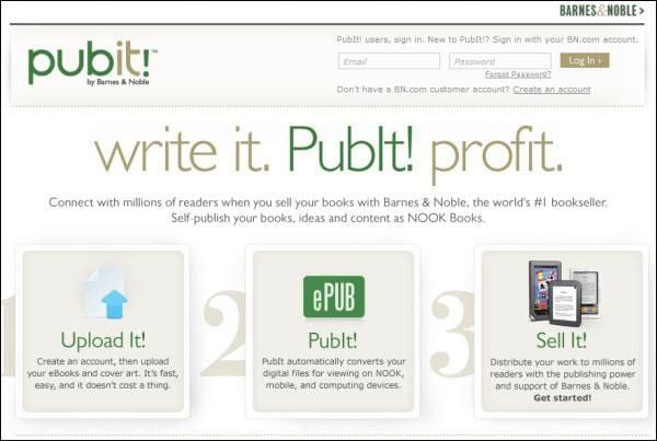 publish ebooks