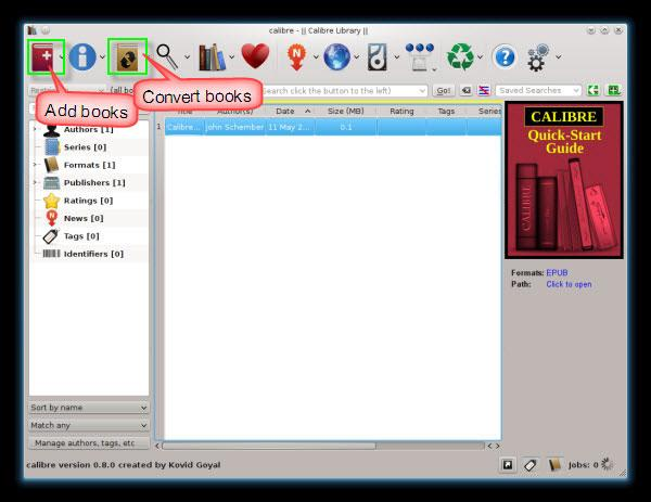 convert EPUB to Kindle