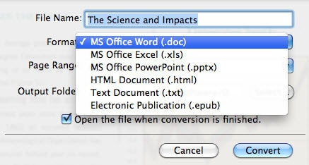 edit PDF in Mac