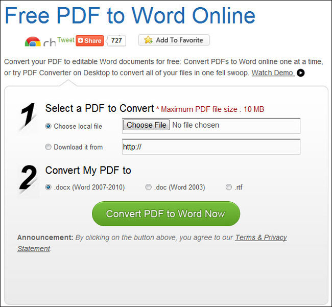 telecharger convertisseur pdf word gratuit