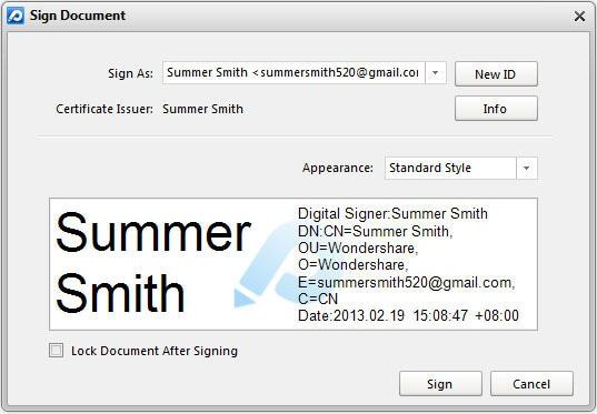 how to add digital signature in nitro pdf
