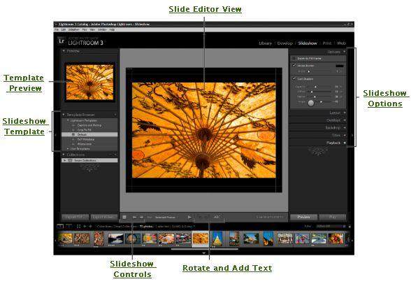 lightroom slideshow